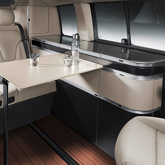 <b>Mercedes-Benz</b> - Marco Polo Interieur-Design und Modellbau