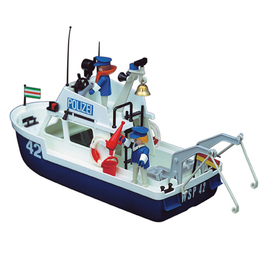 <b> Playmobil </b> - Polizeiboot